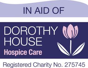 Dorothy House supported by Bath Art Fair , logo