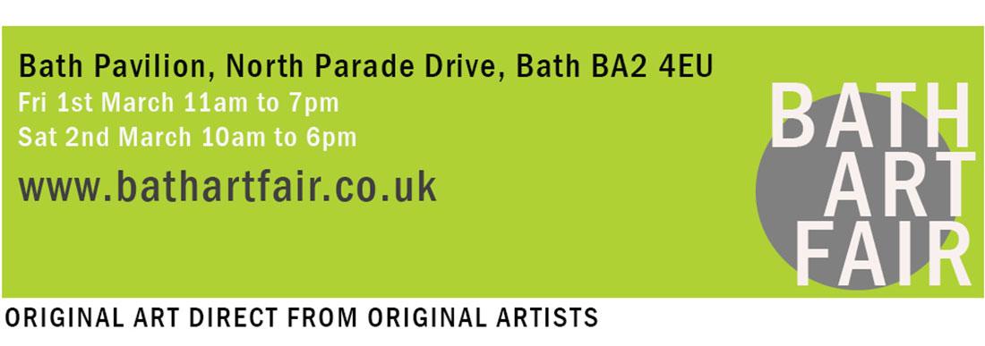 Art Fair Bath Somerset, website banner