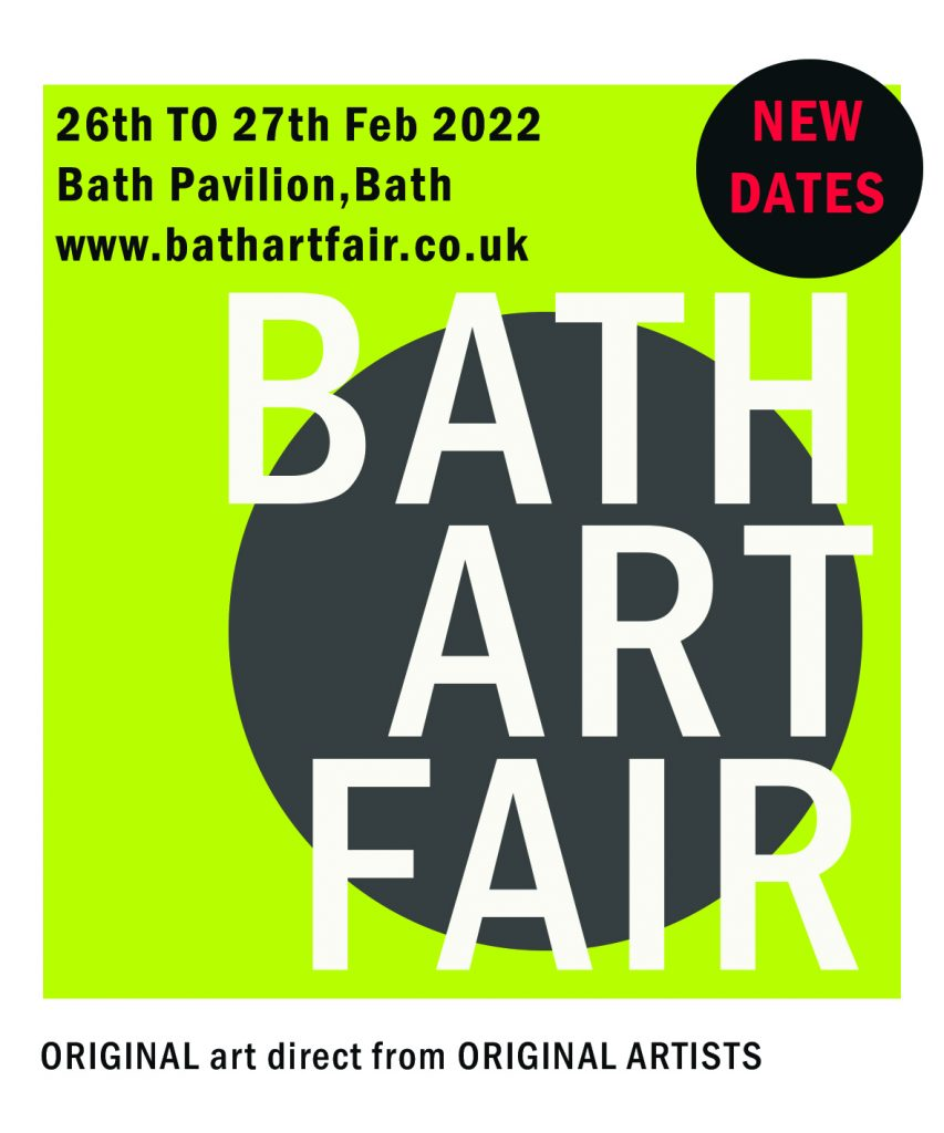 The Bath Art Fair 2022 Fri 25th to Sun 27th February 2022 banner